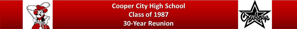 COOPER CITY HIGH SCHOOL Reunion