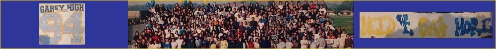 GAREY SENIOR HIGH Reunion
